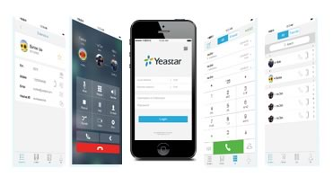 Yeastar Central telefónica N824 Anytime Anywhere Mobility