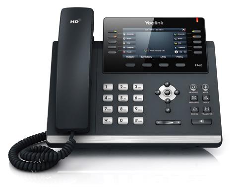 Teléfono IP Gama Alta Gigabit SIP T46G